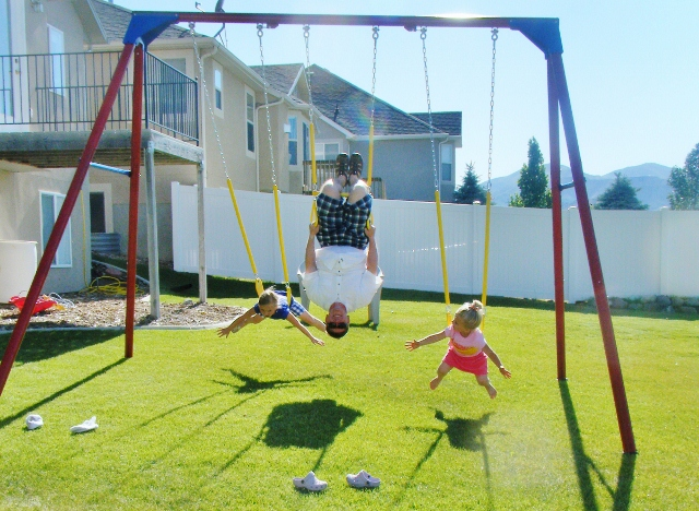 Swing set big enough for adults for How to build a swing set for adults