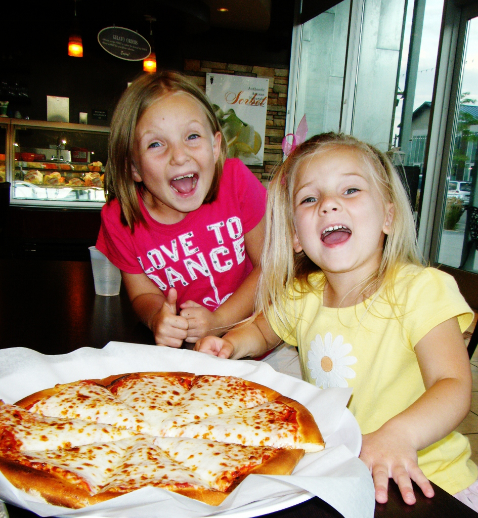 Great Pizza for kids Cafe Bella Rue