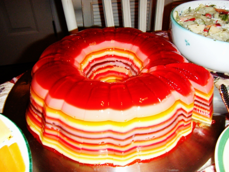 Can I make jello in a bundt pan how to make a layered jello