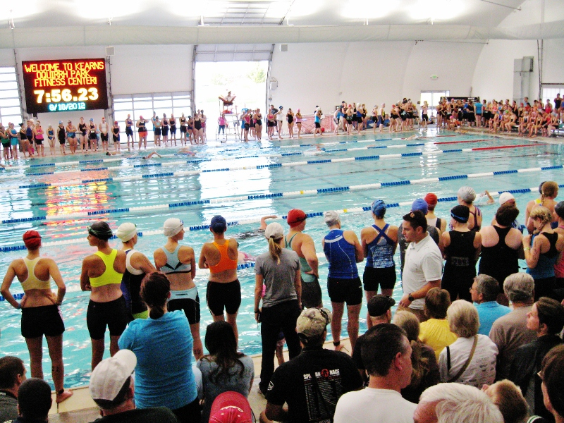 What the difference between open water triathlons and pool triathlons