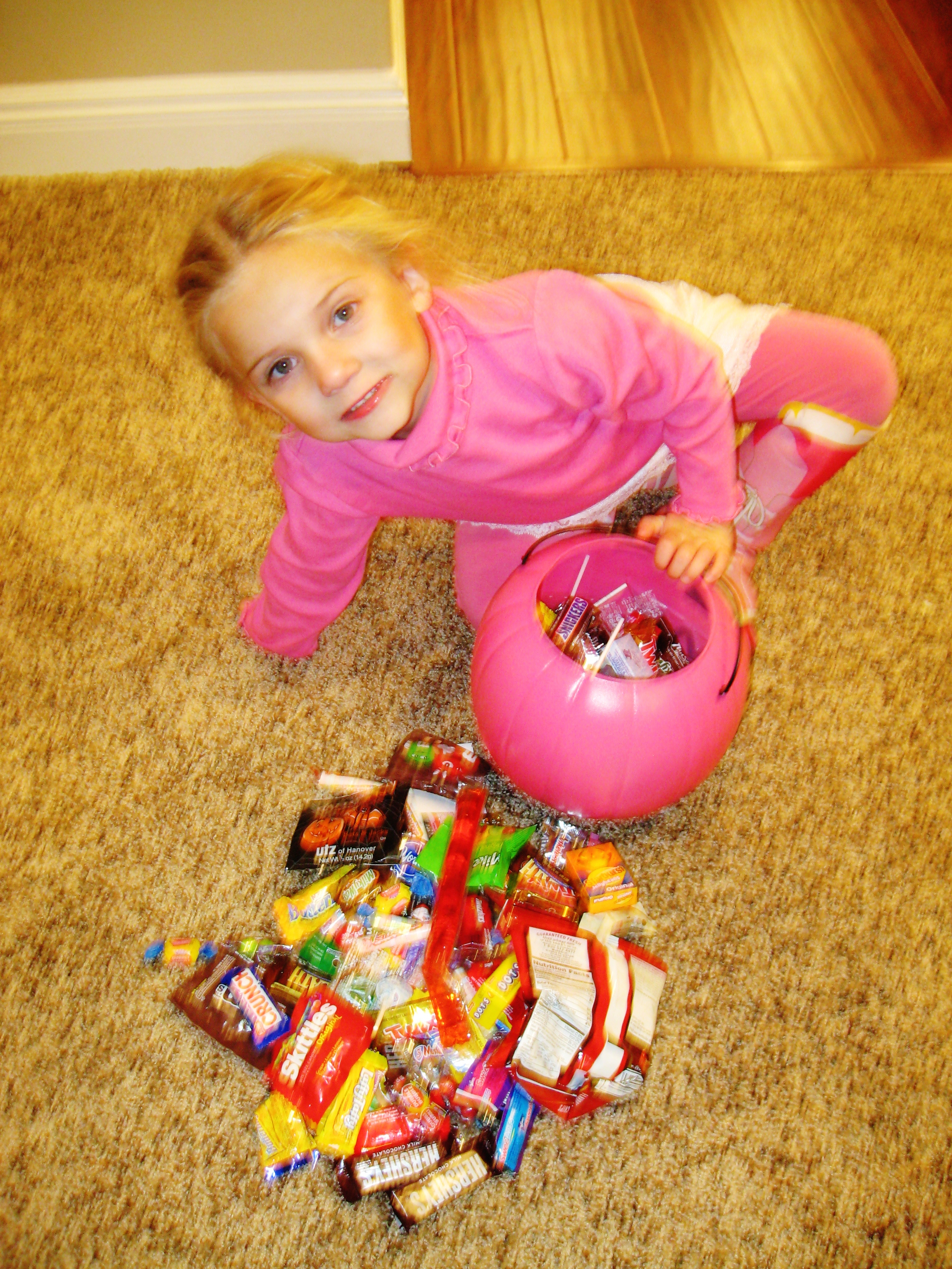 How to get rid of halloween candy