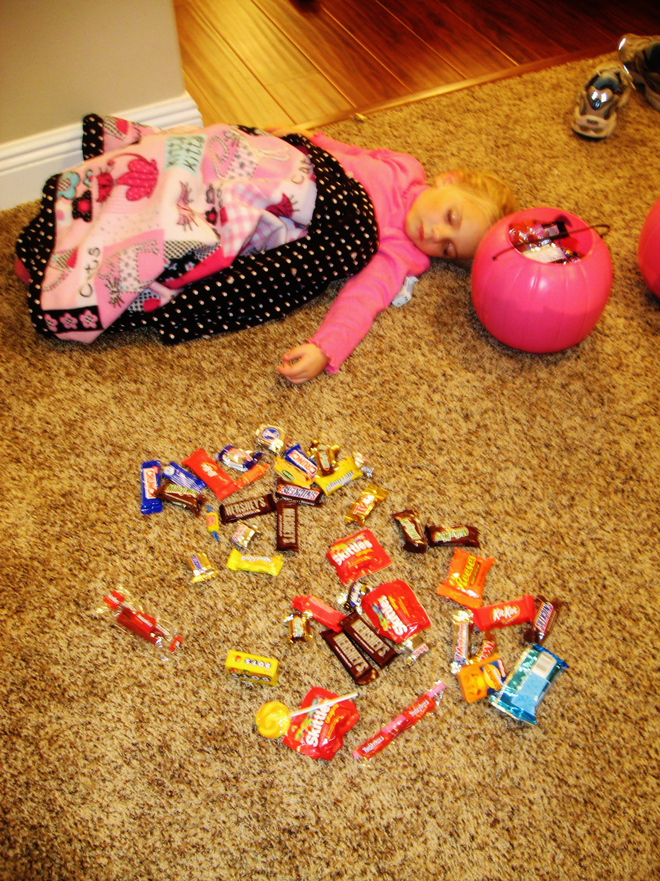 How to get rid of your child's halloween candy with out tears