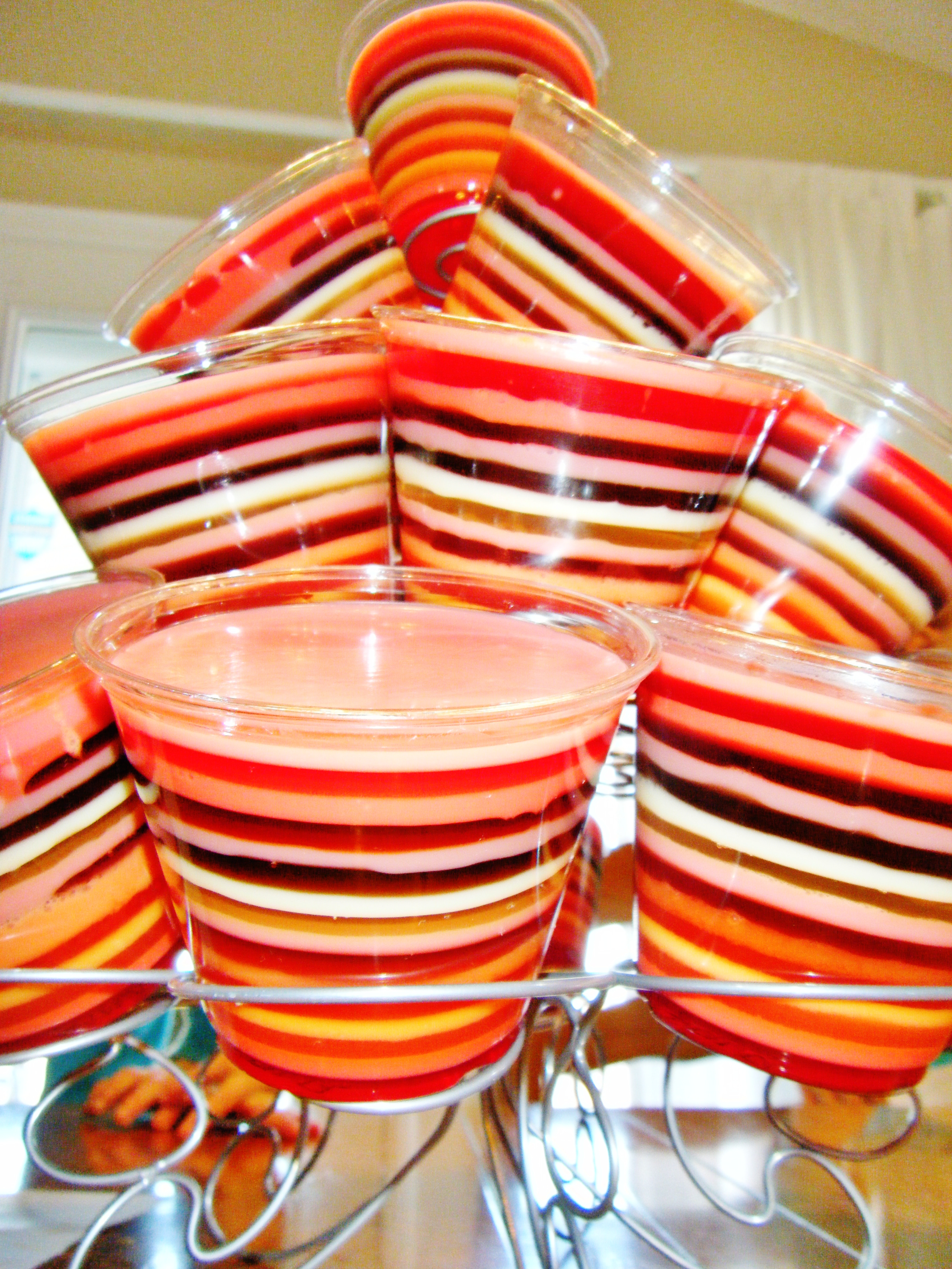 Layered Jell-O tutorial