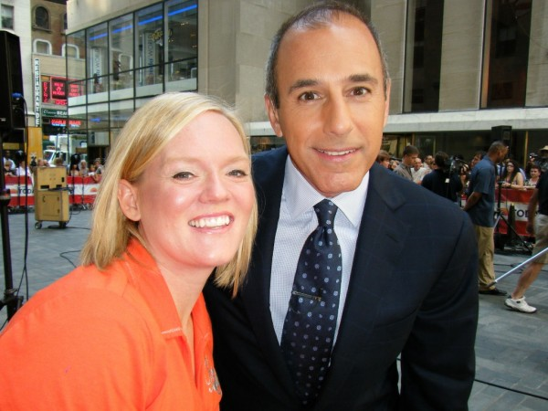 How can I Meet Matt Lauer