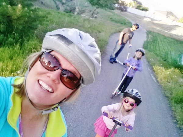 Fun Family Home Evening Activities Razor Scooters
