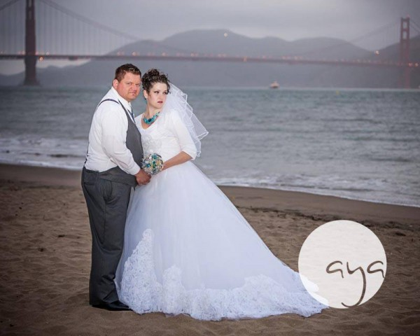 Golden Gate Bridge Wedding Photos